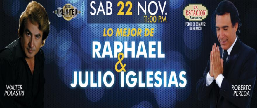Yo soy Raphael y Julio Iglesias