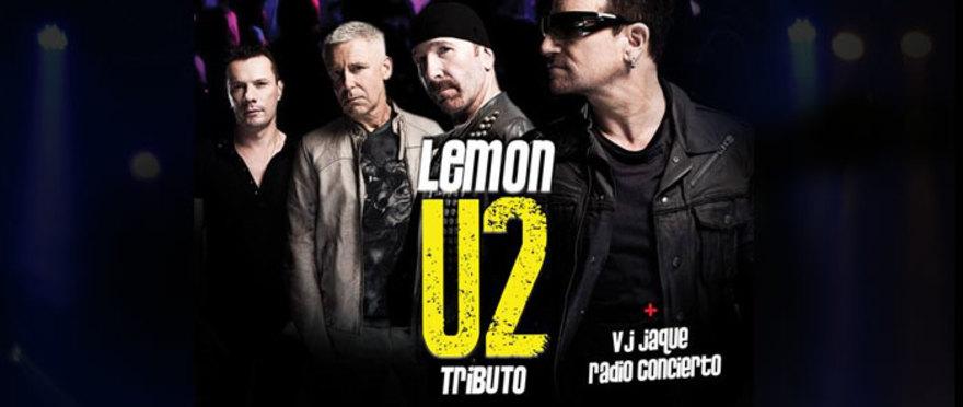 Lemon tributo a U2 & Fiesta 80's 90's VJ Jaque