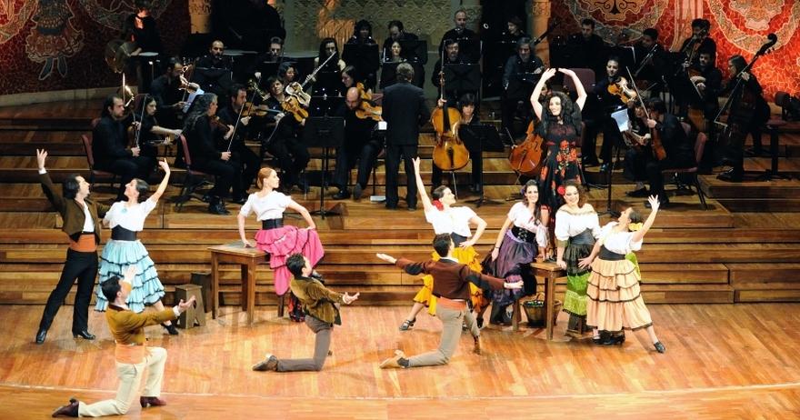 Carmen de Bizet, ballet