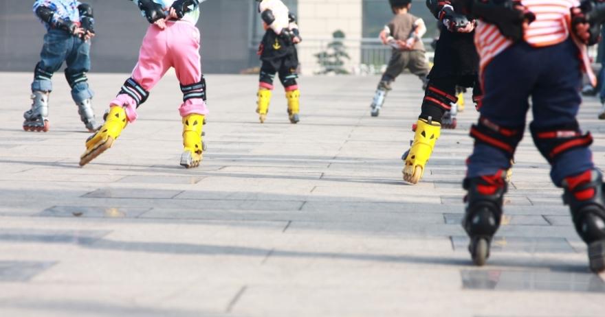 Clases de patinaje para ni�os en Madrid R�o
