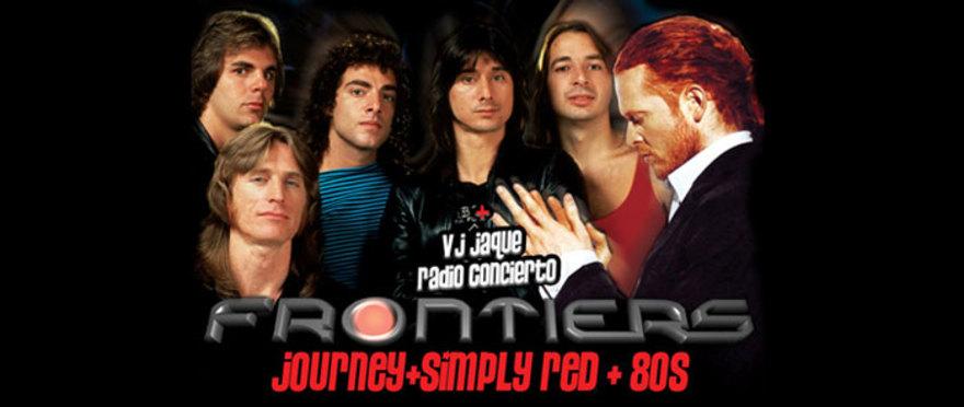 El Tributo de Frontiers a Journey & Simply Red