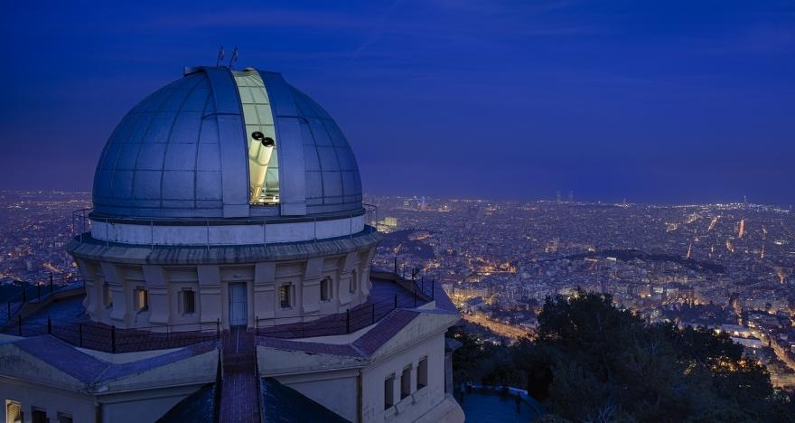 Visita guiada nocturna al Observatori Fabra