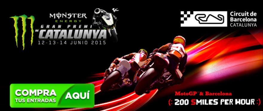 Gran Premi Monster Energy de Catalunya MotoGP 2015