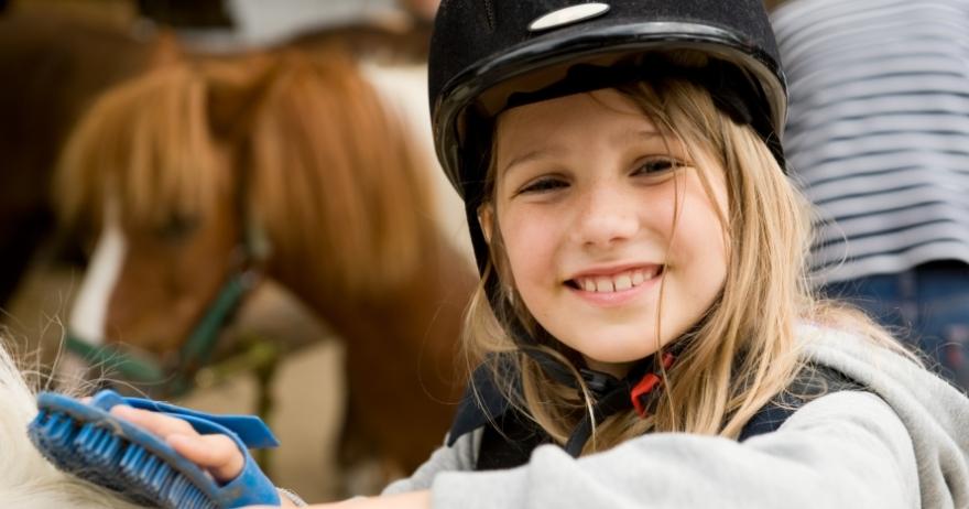 Paseo a caballo o poni por Collserola