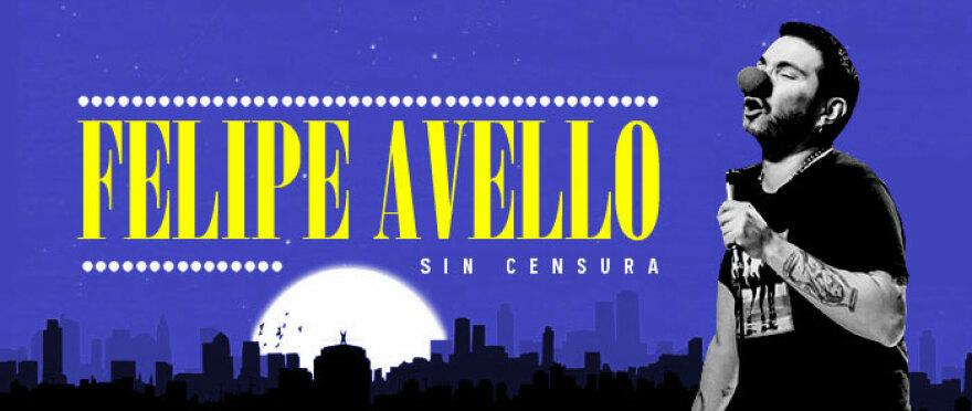Felipe Avello en el Comedy
