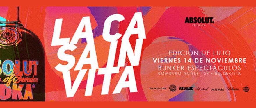 #Lacasainvita - Edicion de lujo en Bunker