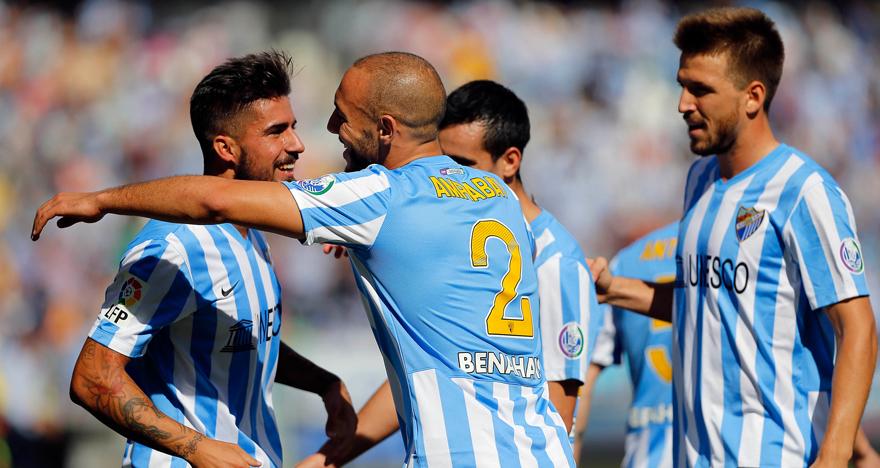 Liga BBVA 2014/15 - M�laga CF vs Valencia