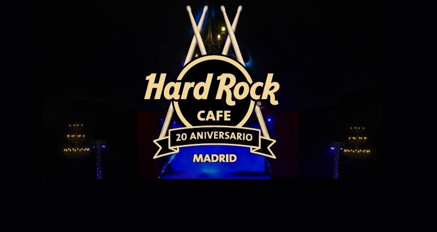 Hard Rock Live 20 aniversario en Teatro Caser Ruedo Las Ventas