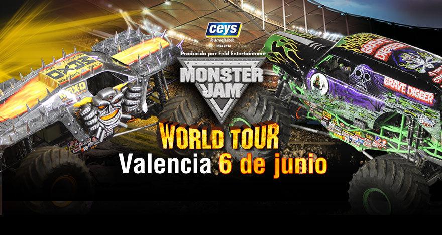Monster Jam 2015 en Valencia