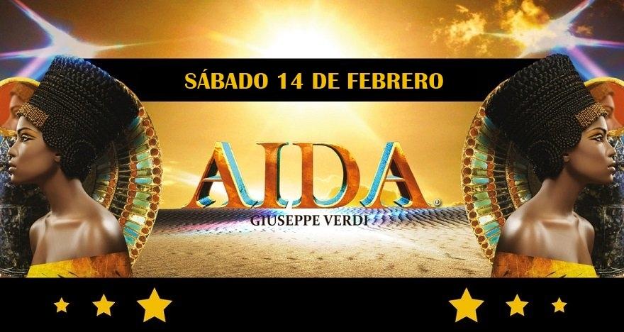 A�da de Giuseppe Verdi, en Bilbao