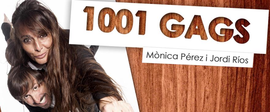 1001 gags, espect�culo de humor con Jordi R�os y M�nica P�rez