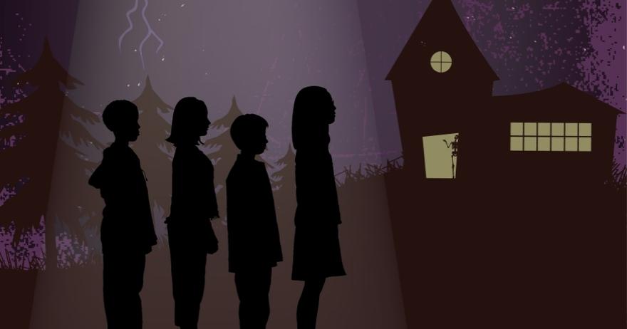 Los Sin Miedo La casa de los esqueletos asustados