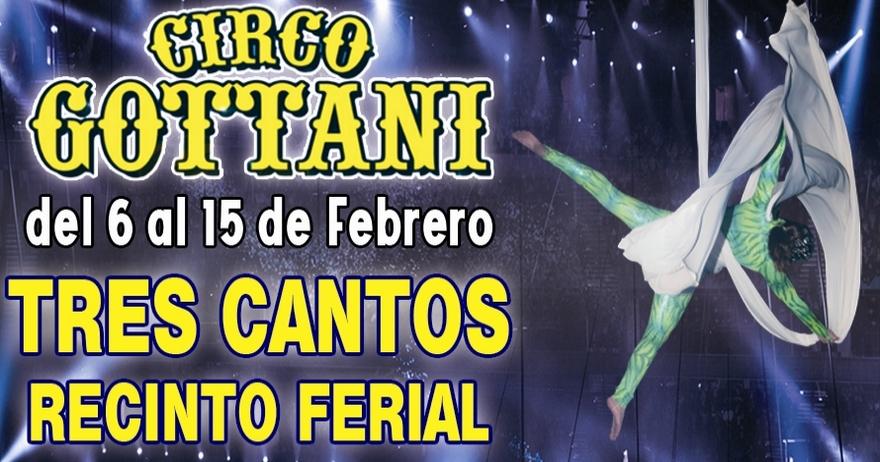 Circo Gottani - Sueños Ecuestres en Tres Cantos