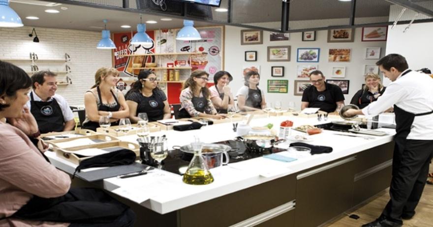 Talleres de cocina para regalar by chef caprabo 10 dto for Cursos de cocina barcelona