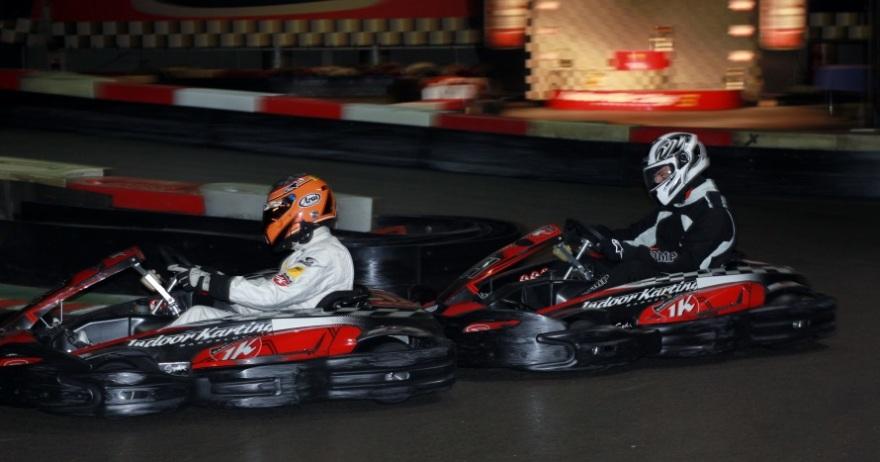 Circuito Karting : Circuito de karts indoor ¡pisa a fondo dto sant