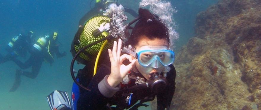Bautizo de Mar (Discover Scuba diver PADI)