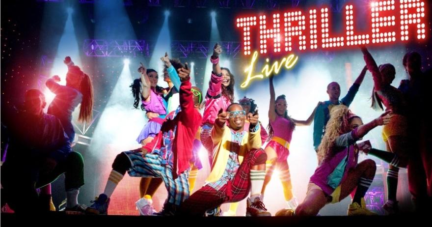 Una espectacular puesta en escena te espera en Thriller Live