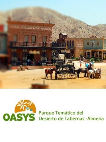 Venta de entradas Oasys Parque Temático Desierto de Tabernas
