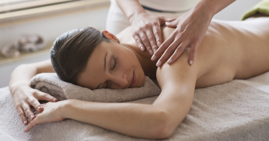 Masaje y spa, relax completo