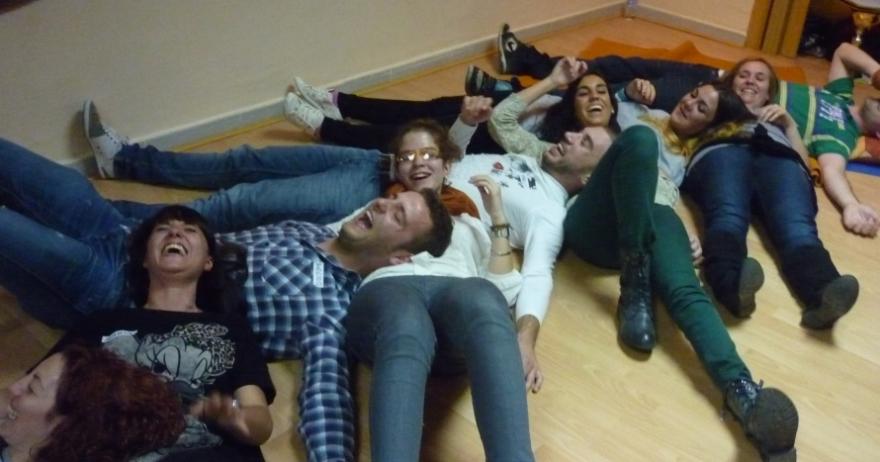 Risoterapia en Madrid, DisfrutArte