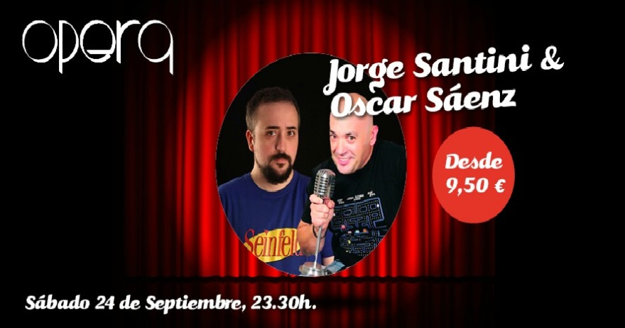 Jorge Santini y �scar S�enz
