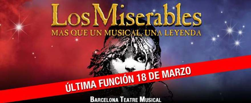 Los Miserables - Barcelona