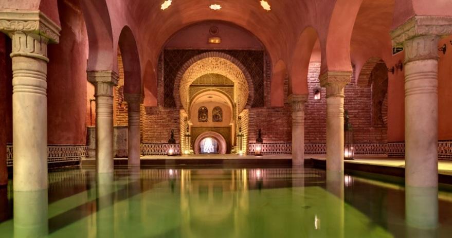 Baño árabe con masaje romantico