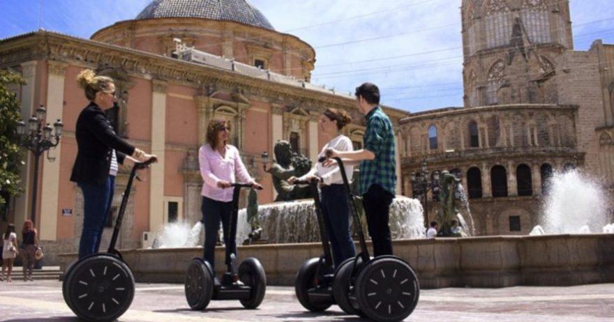 Ruta en Segway por los jardines del Turia hasta el Palau de la Música Valencia