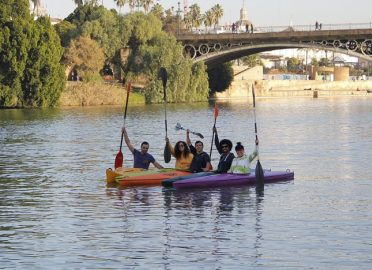 Pareja perra Deportes acuáticos en Sevilla