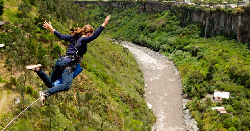 Resultado de imagen de bungee jumping