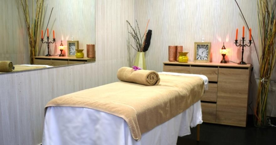 Spa para dos masaje