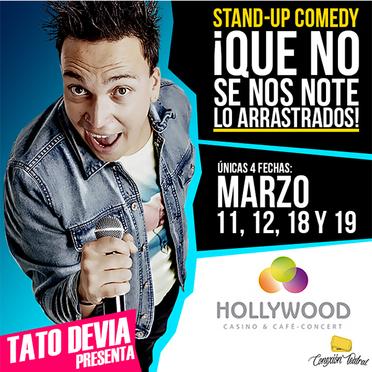 Casino hollywood bogota stand up comedy