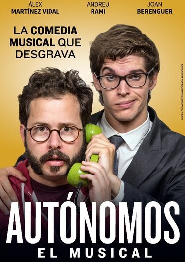 Autónomos, el musical en Barcelona