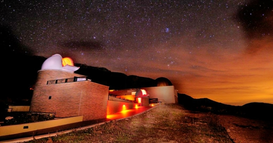 Parque Astronómico del Montsec barcelona