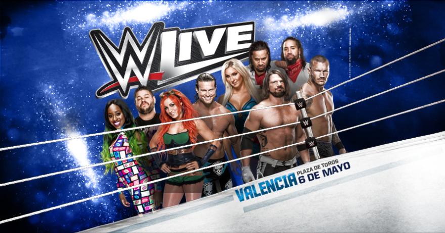 WWE Live 2017, en Valencia