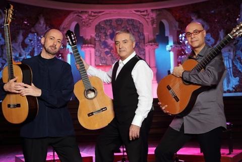 Barcelona Guitar Trio -  Basílica Santa María del Pi