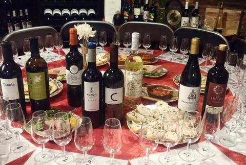 Cata gourmet 5 vinos y 5 pintxos