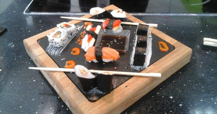 Curso de sushi ad ntrate en la cocina oriental 56 dto - Escuela de cocina paco amor ...
