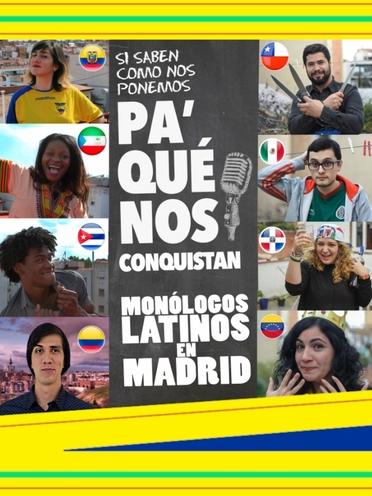 "Resultado de imagen para ""Pa' que nos conquistan"" Madrid Centro ""Pa' que nos conquistan"""