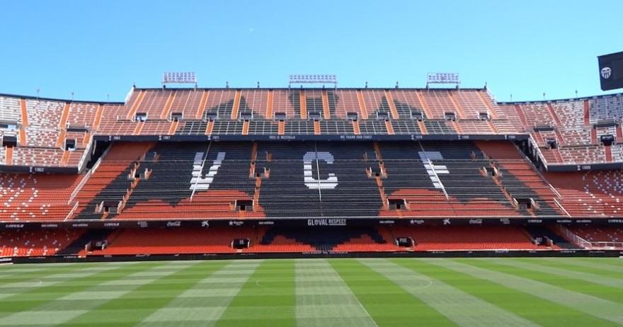 Resultado de imagen para estadio mestalla