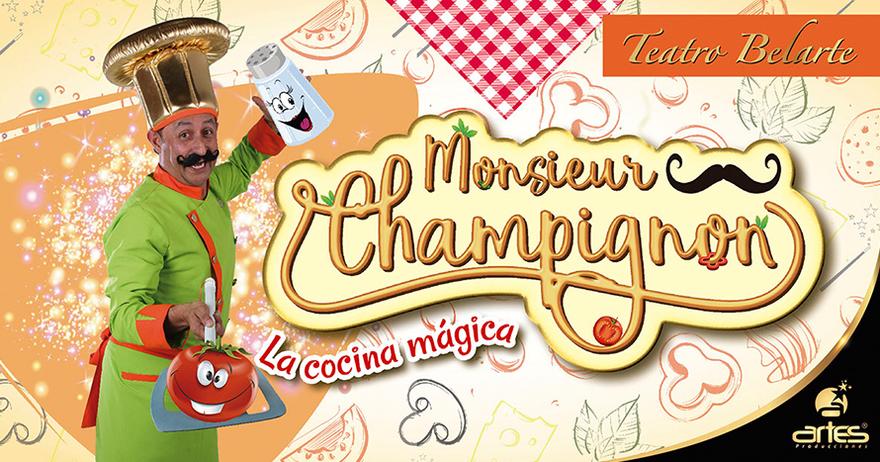 Entradas para la cocina m gica de monsieur champignon 25 for Teatro la cocina