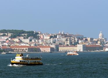 Lisboa en barco