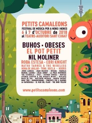 venta de entradas Festival Petits Camaleons 2018