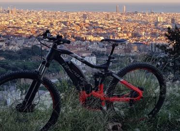 Barcelona: Electric Mountain Bike
