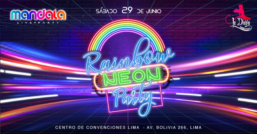 Venta de entradas para Rainbow Neon Party en Atrápalo