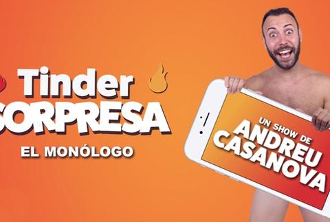 Tinder Sorpresa - Andreu Casanova, en Barcelona
