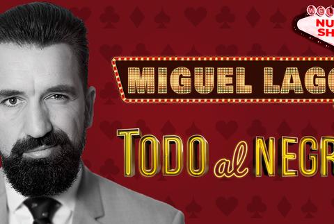 Miguel Lago: Todo al negro, en Madrid
