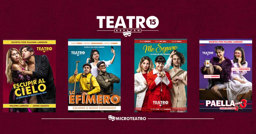 Entradas Para Teatro 15 Microteatro En Terraza Arrayán 39