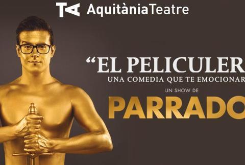 Parrado - El peliculero, un monólogo de cine, en Barcelona