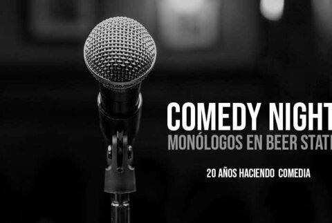 Comedy Nights, monólogos en Beer Station